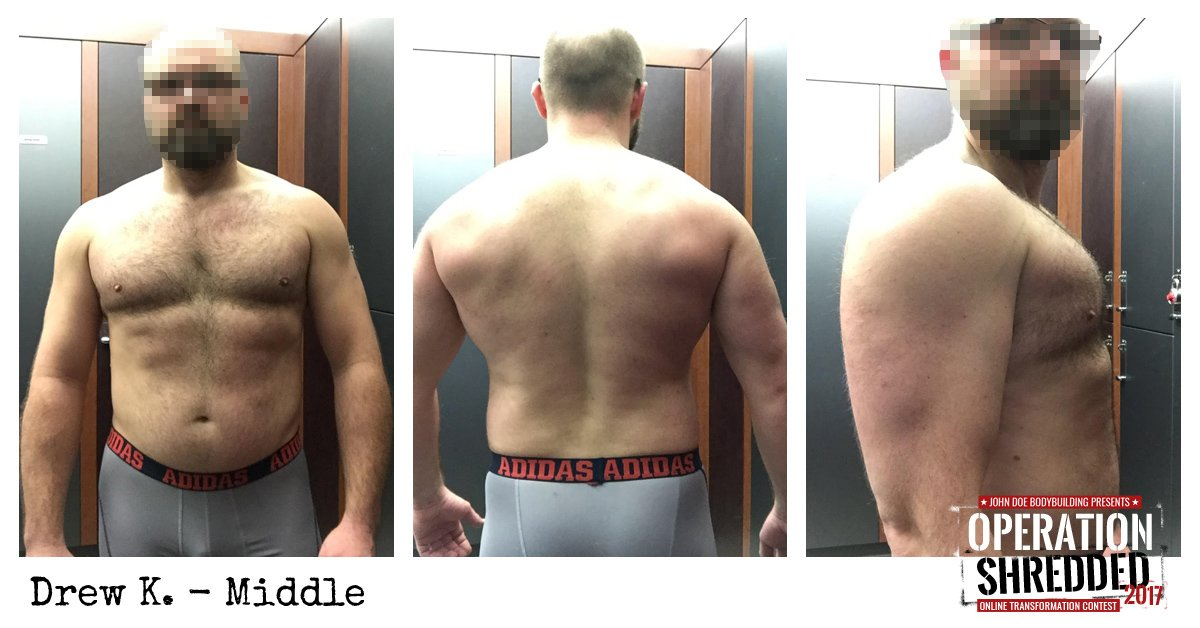 Operation Shredded 2017 Results - Drew K Middle