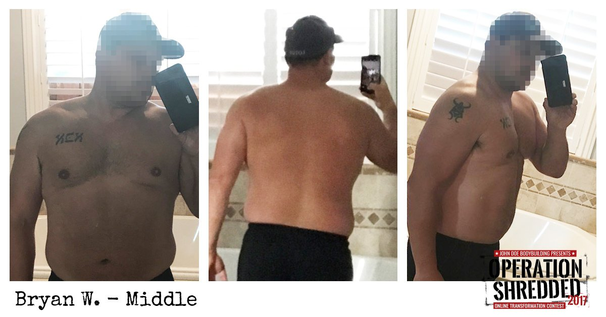 Operation Shredded 2017 Results- Bryan W Middle